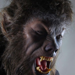 The Wolfman 2010 movie costume custom statue werewolf
