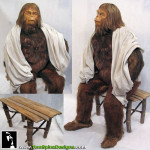 Beneath the Planet of the Apes Zaius Costume Maurice Evans custom mannequin for his sauna suit