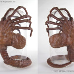 1986 Aliens Facehugger Prop restoration and display