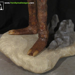 Land of the Lost Enik Costume Restoration Themed base for Custom Mannequin Display