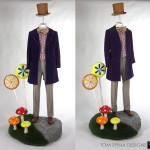 Willy Wonka Costume Custom Mannequin