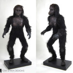 2001: A Space Odyssey ape costume by Stuart Freeborn