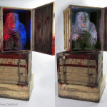 Themed props and display forCreepshow Fluffy