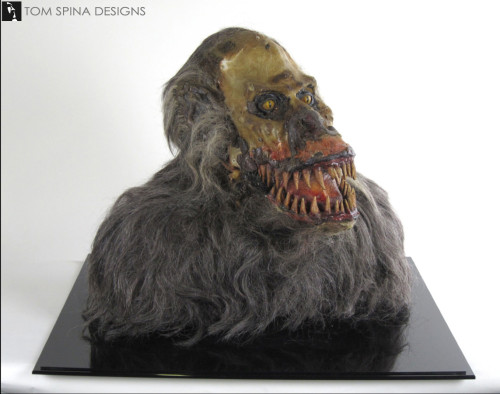 screen used movie Creepshow Fluffy puppet conservation
