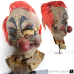 Killer Klowns movie prop mask conservation