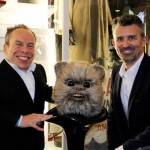 Star Wars actor wicket original prop mask restoration and preservation from Return of the Jedi