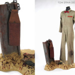Texas Chainsaw Massacre 2 Prop & Costume Display