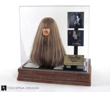 Addams Family Values Movie Prop puppet with custom acrylic display case