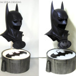 Batman & Robin Movie Cowl Bat-signal Bust