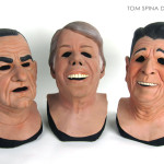 Point Break Presidents masks busts from Patrick Swayze movie