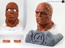 Fantastic Four Thing mask bust