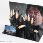 Fright Night movie Prop claws worn by Chris Sarandon as Jerry Dandridge