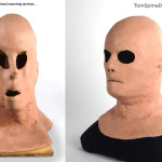 Hollow Man Kevin Bacon Silicone Movie Prop Mask Custom Display Bust