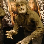 Wolfman sculpted statue full body