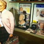 Robin Williams Mrs Doubtfire makeup movie prop display