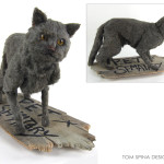 Stephen King pet sematary prop cat puppet