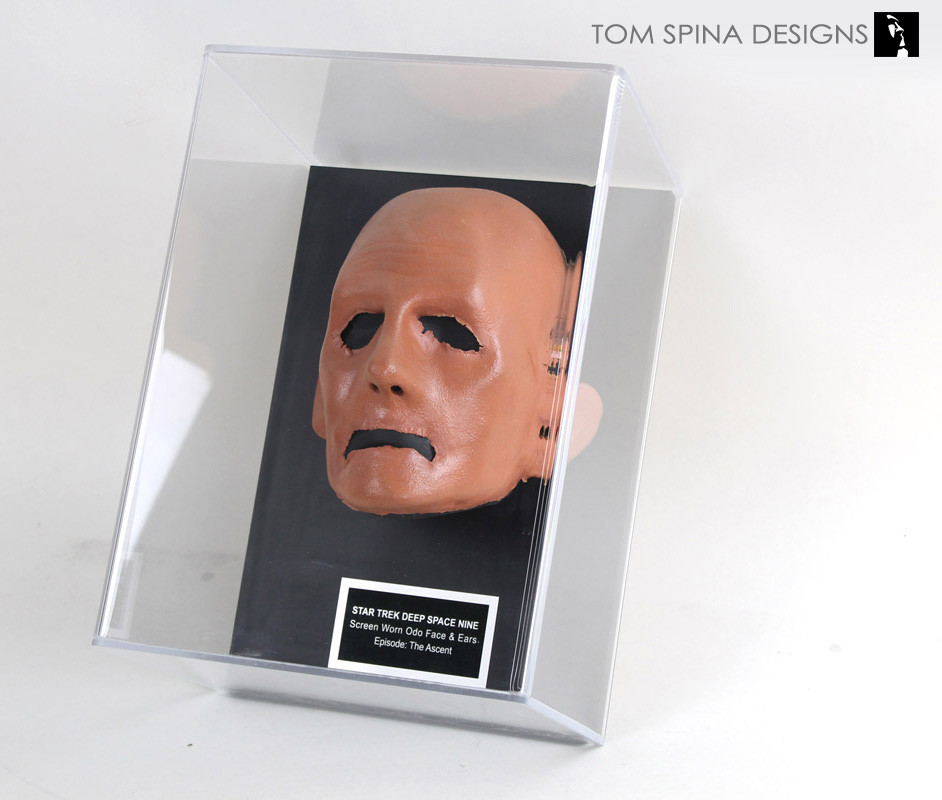 Deep Space Nine Odo Prosthetic face for Rene auberjonois