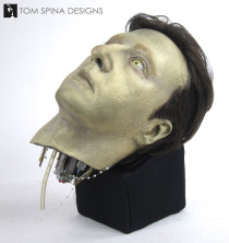 Star Trek Data props head from Phantasms episode
