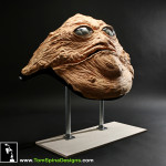 Jabba the Hutt prop custom sculpture