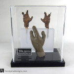 The Dark Crystal movie props custom acrylic display case