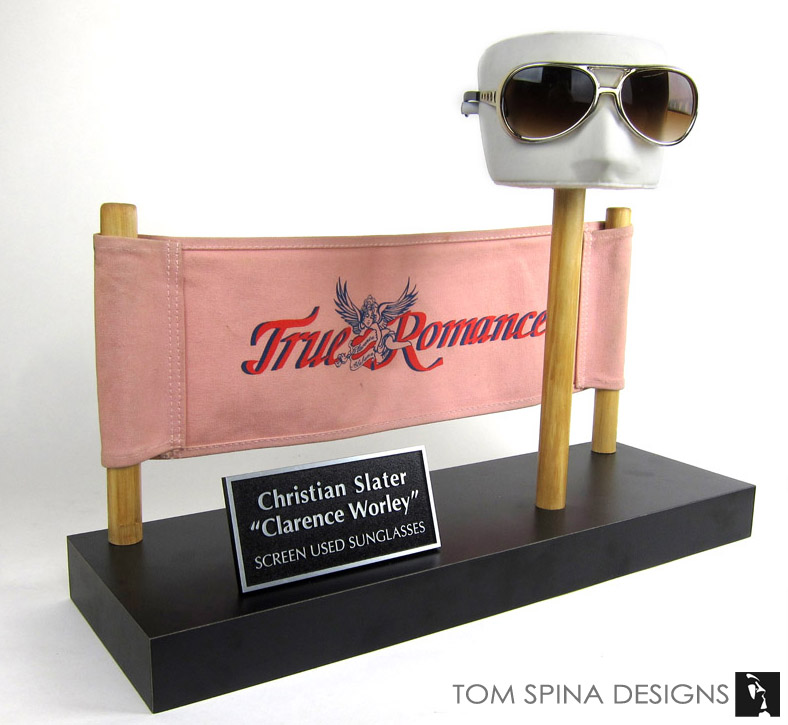 Christian Slater original True Romance movie props