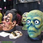 classic monster sculpted heads hand painted