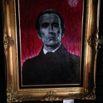 Christopher Lee Dracula painting