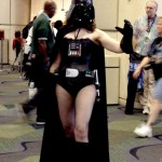 Darth vader gender swap cosplay costume