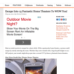 Device Magazine's- 15 Home Theater's to WOW You