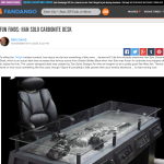 Articles about our Han Solo in Carbonite Desk