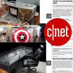 CNET- 14  Amazing Desks and Workspaces Article