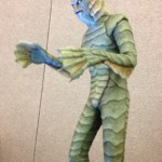 Creature from the black lagoon life size statue