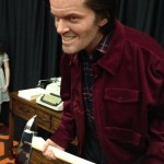 The Shining Jack Nicholson life sized sculpture