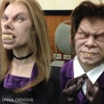 vampire ghoul bust sculptures