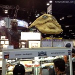 Jabba the hutt puppet movie prop