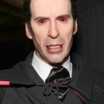 Christopher lee Dracula likeness statue