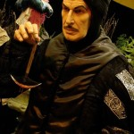 life sized silicone Vincent Price statue