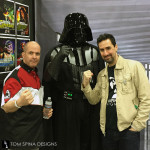 Darth Vader with Tom Spina and Shawn Gordon