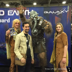 Battlefield Earth Terl custom costume for convention mascot