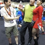 Star wars convention Star trek cosplayers