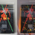 Star Wars Lightsaber Props Acrylic Case