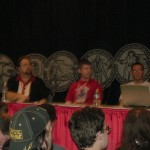 Movie prop movie costume convention discussion panel