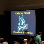 Star Wars movie props and costume discussion panel