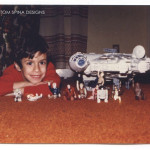 throwback photo Star Wars 1970 toys