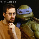 Teenage Mutant Ninja Turtles restored movie prop