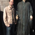 Voldemort harry potter wax museum style statue