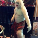 Abominable snow man monster yeti statue