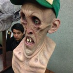 zombie ghoul realistic bust sculpture