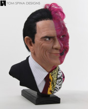 batman two face custom lifesized bust