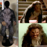 One of Seth Green's werewolf costumes from Buffy the Vampire Slayer
